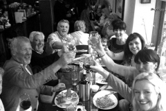 Parties at The Corner Note Café Dalkey